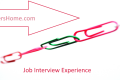 Job Interview Experience